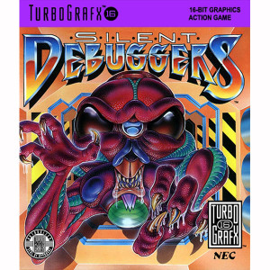 Silent Debuggers NEC Home Electronics Turbo Grafx 16 Video Game For Sale | DKOldies