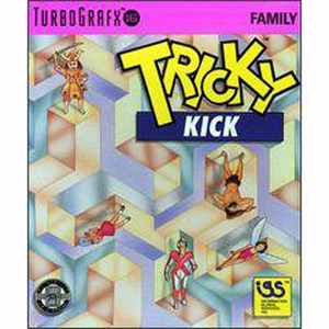 Tricky Kick NEC Home Electronics Turbo Grafx 16 Video Game For Sale | DKOldies