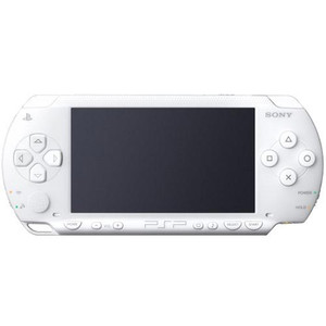 Sony PSP 2000 Handheld System White Front