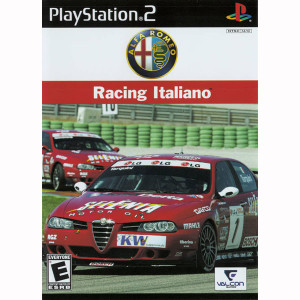 Alfa Romeo Racing Italiano Video Game for Sony PlayStation 2