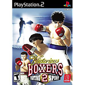 Victorious Boxers 2 Fighting Spirit Sony PlayStation 2 Video Game
