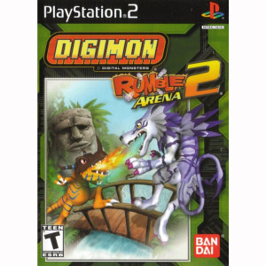 Digimon Rumble Arena 2 Sony Playstation 2 Video Game