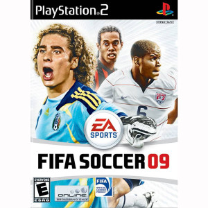 FIFA Soccer 09 Video Game for Sony PayStation 2