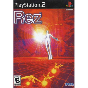 Rez Video Game for Sony PlayStation 2