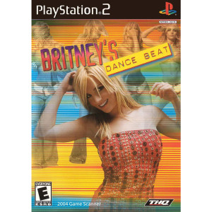 Britney's Dance Beat Video Game for Sony PlayStation 2