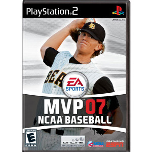MVP NCAA Baseball 07 Video Game for Sony PlayStation 2