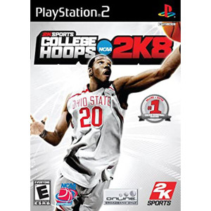 College Hoops 2k8 Video Game for Sony PlayStation 2