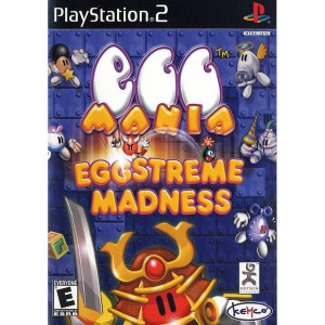 Egg Mania Eggstreme Madness Video Game for PlayStation 2