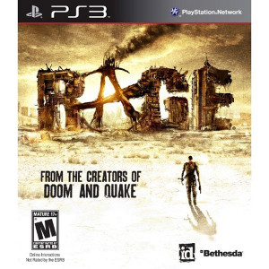 Rage Video Game for Sony PlayStation 3