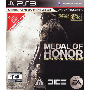 Medal of Honor Limited Edition Video Game for Sony PlayStation 3