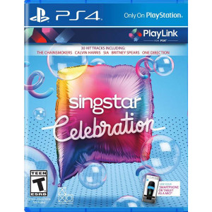 Singstar Celebration Video Game for Sony PlayStation 4