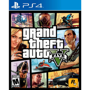 Grand Theft Auto V Video Game for Sony PlayStation 4