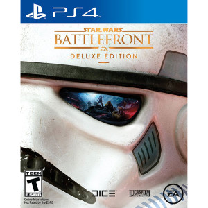 Star Wars Battlefront Deluxe Edition Video Game for Sony PlayStation 4