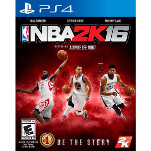 NBA 2K16 Video Game for Sony PlayStation 4