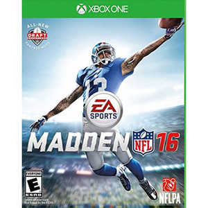 Madden NFL 16 Video Game for Microsoft Xbox One