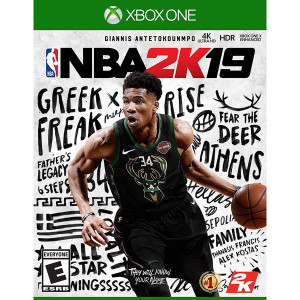 NBA 2K19 Video Game for Microsoft Xbox One