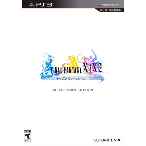 Final Fantasy X | X2 HD Remaster Collector's Edition Video Game for Sony PlayStation 3