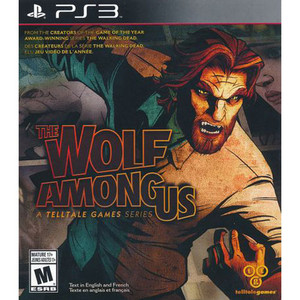 The Wolf Among Us Video Game for Sony PlayStation 3