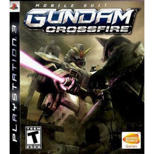 Mobile Suit Gundam Crossfire Video Game for Sony PlayStation 3