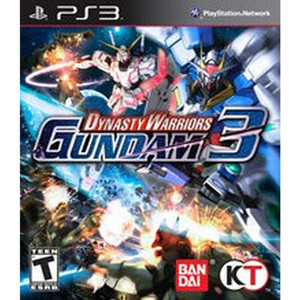 Dynasty Warriors Gundam 3 Video Game for Sony PlayStation 3