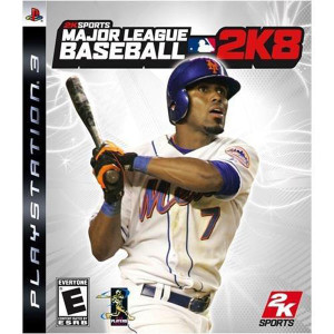 Major League Baseball 2k8 Video Game for Sony PlayStation 3