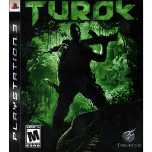 Turok Video game for Sony PlayStation 3