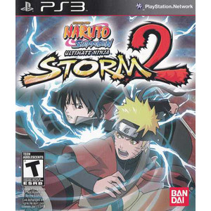 Naruto Ultimate Ninja Storm 2 Video Game for Sony PlayStation 3
