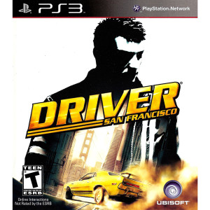 Driver San Francisco Video Game for Sony PlayStation 3