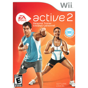 Active 2 Personal Trainer Video Game for Nintendo Wii
