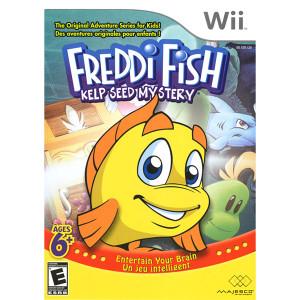 Freddi Fish Kelp Seed Mystery Video Game for Nintendo Wii