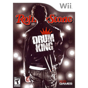 Rolling Stone Drum King  Video Game for Nintendo Wii