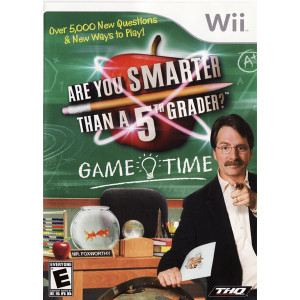 Are You Smarter Than a Fifth Grader? Game Time  Video Game for Nintendo Wii