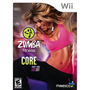 Zumba Fitness Core Video Game for Nintendo Wii