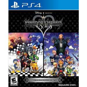 Kingdom Hearts HD 1.5 + 2.5 Remix Video Game for Sony PlayStation 4