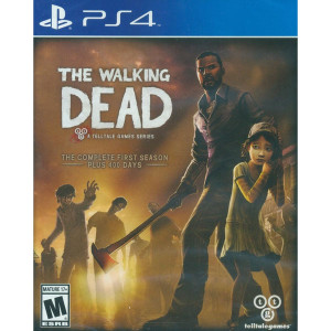 The Walking Dead First Season Video Game for Sony PlayStation 4