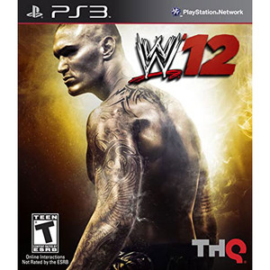 WWE 12 Video Game for Sony PlayStation 3