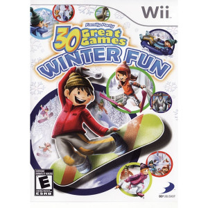 30 Great Games Winter Fun Video Game for Nintendo Wii
