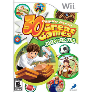 30 Great Games Outdoor Fun Video Game for Nintendo Wii