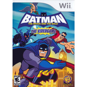 Batman The Brave and the Bold Video Game for Nintendo Wii
