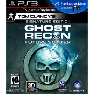 Ghost Recon Future Soldier Signature Edition Video Game for Sony PlayStation 3