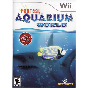 Fantasy Aquarium World Video Game for Nintendo Wii