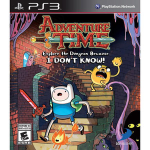 Adventure Time Explore the Dungeon Because I Don't Know! Video Game for Sony PlayStation 3