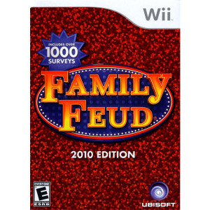 Family Feud 2010 Edition Video Game for Nintendo Wii