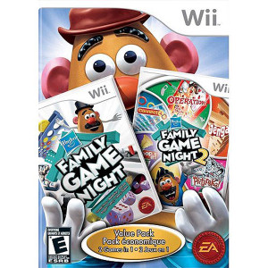 Hasbro Family Game Night Fun Pack Video Game for Nintendo Wii