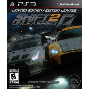 Shift 2 Unleashed Limited Edition Video Game for Sony PlayStation 3