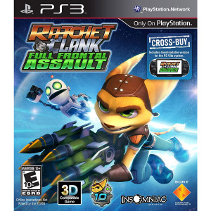 Ratchet and Clank Full Frontal Assault Video game for Sony PlayStation 3