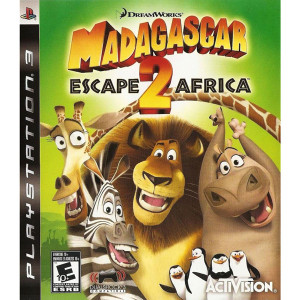 Madagascar Escape 2 Africa Video Game for Sony PlayStation 3