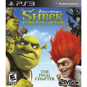 Shrek Forever After Video Game for Sony PlayStation 3