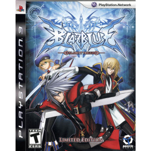 BlazBlue Calamity Trigger Limited Edition Video Game for Sony PlayStation 3