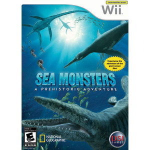 Sea Monsters A Prehistoric Adventure Video Game for Nintendo Wii